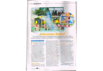Jurasik Park Inn Coverage in Child Magazinen