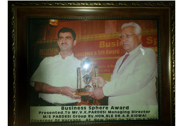 Pardesi Group Business Sphere Award